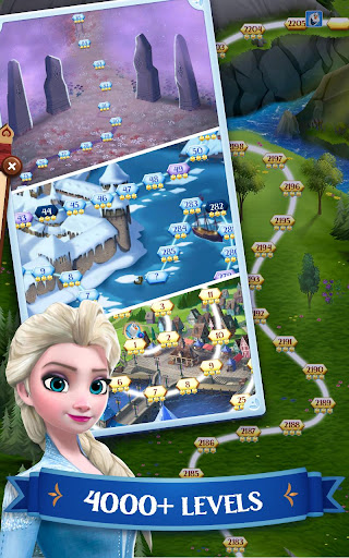 Disney Frozen Free Fall - Play Frozen Puzzle Games 10.0.1 screenshots 14