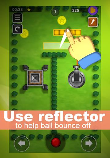 bounce n bang : physics puzzles - bounce off game screenshot 3