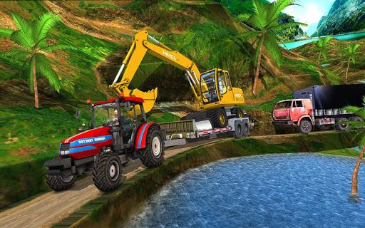 Farming Tractor construction Vehicles Transport 20 apktreat screenshots 1