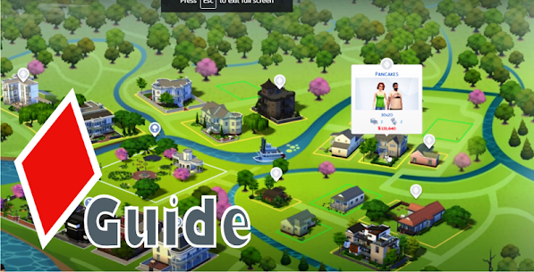 Guide for Sim-sFamily Discover University 4 1