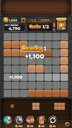 ブロックパズルキング : ウッド・8×8ブロック・パズルのおすすめ画像4