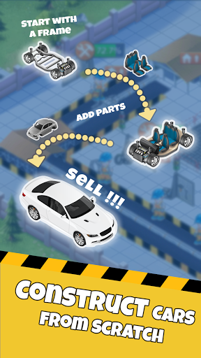 Idle Car Factory: Car Builder, Tycoon Games 2021ud83dude93  screenshots 9