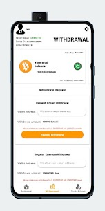 Crypto King – BTC & ETH Cloud Mining APK Paid For Android 5