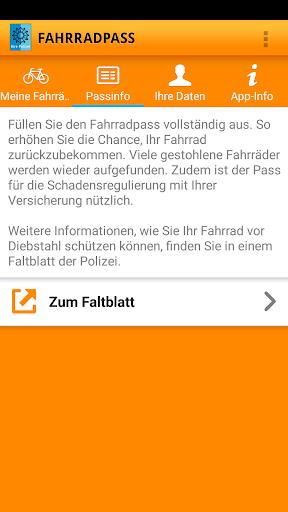 Fahrradpass  screenshots 4