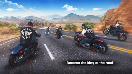 Outlaw Riders: War of Bikers APK v0.3.4 1