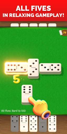 All Fives Dominoes - Classic Domino Free Games screenshots 1