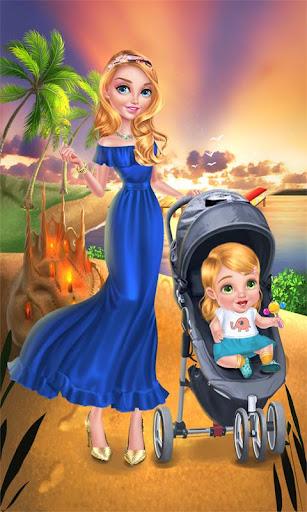 Babysitter & Baby - Beach Day 1.3 Screenshots 1