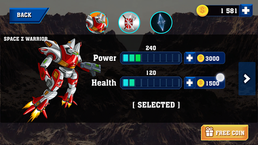 Robot Warrior Apkfinish screenshots 5