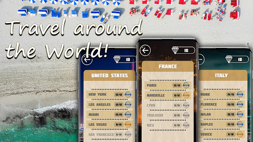 Words & travel puzzle: offline and free  screenshots 7