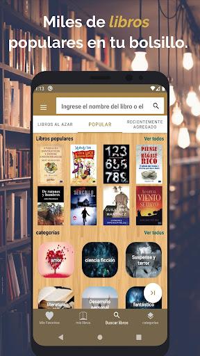 Leer Libros - Gratis E-Libro en Espau00f1ol 1.2.4 Screenshots 1