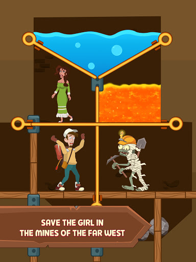 Pull Him Up: Brain Hack Out Puzzle game android2mod screenshots 5