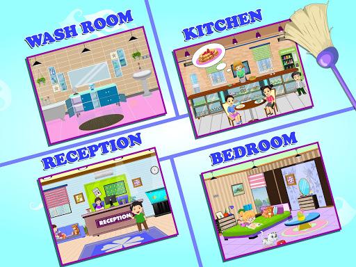 Pretend Play Hotel Cleaning: Doll House Fun 1.1.5 screenshots 7