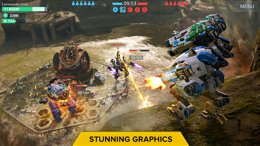 War Robots. 6v6 Tactical Multiplayer Battles 6.8.1 screenshots 2