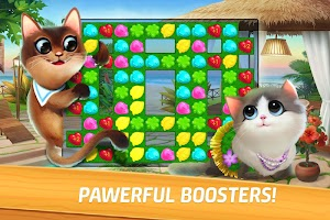 Meow Match: Cats Matching 3 Puzzle & Ball Blast