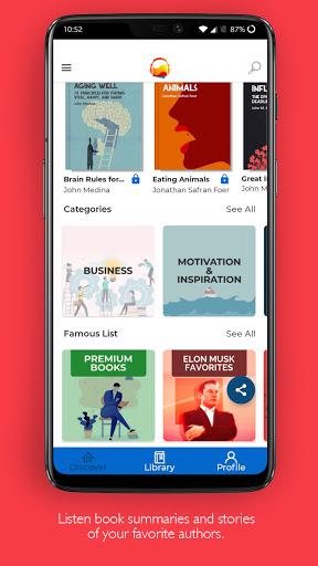 FREE Hindi AudioBook Story Summaries MADE IN INDIA android2mod screenshots 4