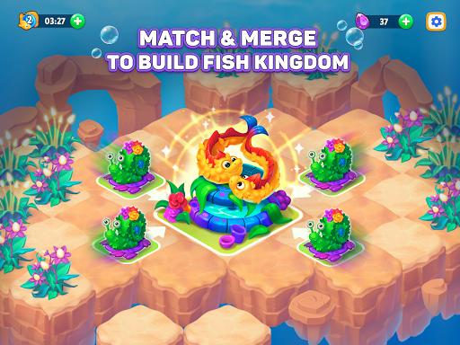 Sea Merge! Fish Games in Aquarium & Ocean Puzzle  screenshots 6