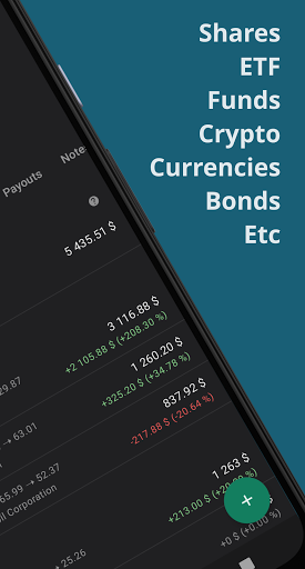 Foto do Investment portfolio tracker, stocks, ETF, crypto