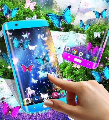Magical forest live wallpaper apktram screenshots 2
