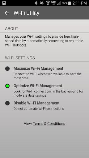 Foto do Wi-Fi Utility