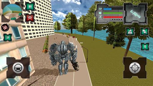 Flying Dragon Robot Simulator :Transformation War  Screenshots 4