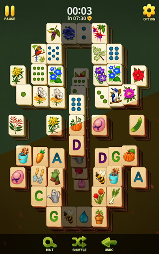 Mahjong Blossom Solitaire apkdebit screenshots 2