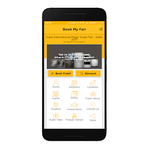 BookMyFair 2.0.5 Mod APK with Data 2