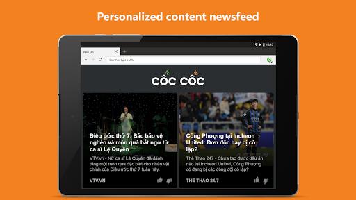 Cu1ed1c Cu1ed1c Browser - Browse web fast & secured 89.0.244 Screenshots 12