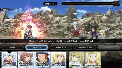 DanMachi - MEMORIA FREESE apktram screenshots 24