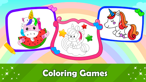 Unicorn Games for Kids & Toddler 2, 3, 4 Year Olds  screenshots 2