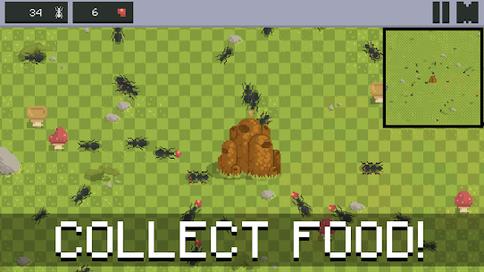 Ant Colony – Simulator Mod Apk 1.4.5_1 (A Lot of Food) 1