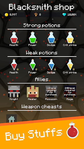 Mine Mob Clicker Rpg apkpoly screenshots 2