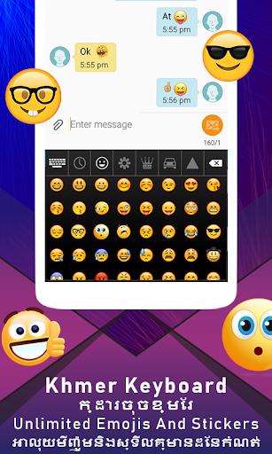 Khmer keyboard for android with Custom keyboard 1.0.6 screenshots 4