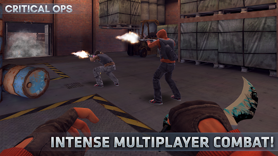 Critical Ops: Online Multiplayer FPS Shooting Game 8