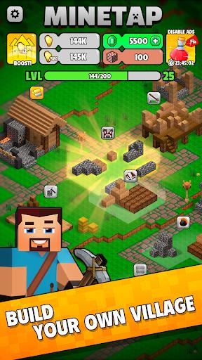 Minetap: Epic Clicker! Tap Crafting & mine heroes 1.5.5 screenshots 3