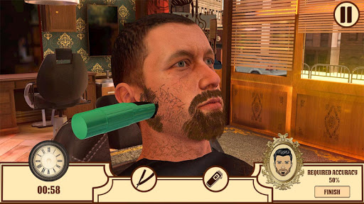 Barber Shop Hair Cut Salon- Hair Cutting Game 2020 screenshots 2