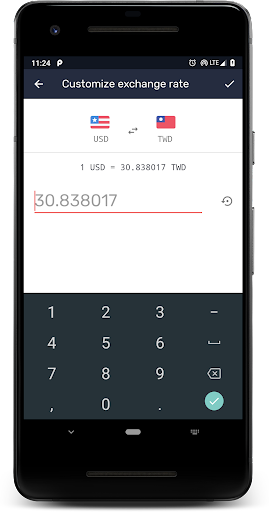 Currency: u2708ufe0fExchange rates, Travel accounting&tags 4.3.24 Screenshots 7