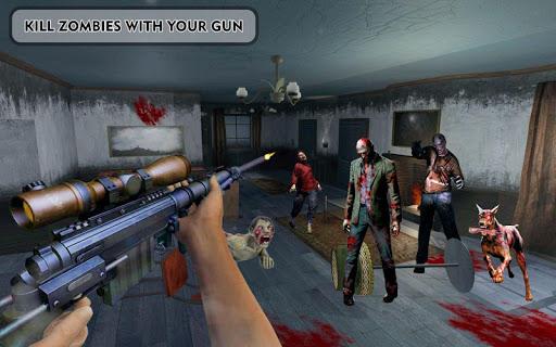 des morts-vivants frontière mort tueur zombi tirer APK MOD – Pièces Illimitées (Astuce) screenshots hack proof 1