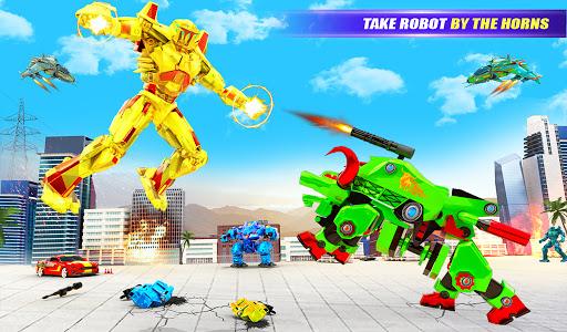 Grand Bull Robot Car Transforming Robot Games 10 Screenshots 6