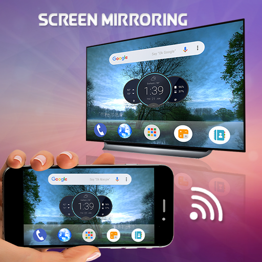 Screen Mirroring With All Tv Apps On, How To Mirror Tablet Screen On Tv