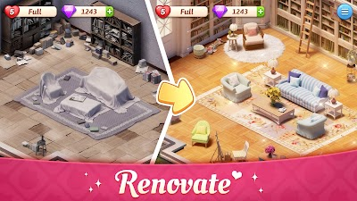 My Story - Mansion Makeover Android App Screenshot