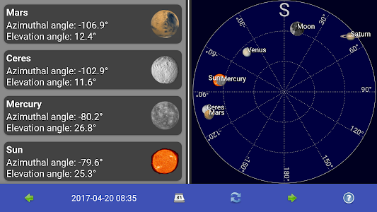 Sun, moon and planets 1.7.3a
