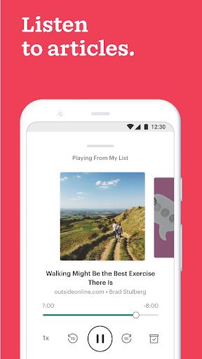 Pocket: Save. Read. Grow.  Screenshots 6