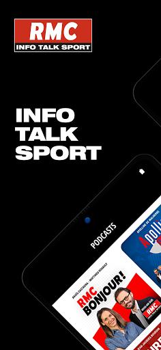 RMC ud83cudf99ufe0fInfo et Foot en direct - Radio & Podcast  Screenshots 1
