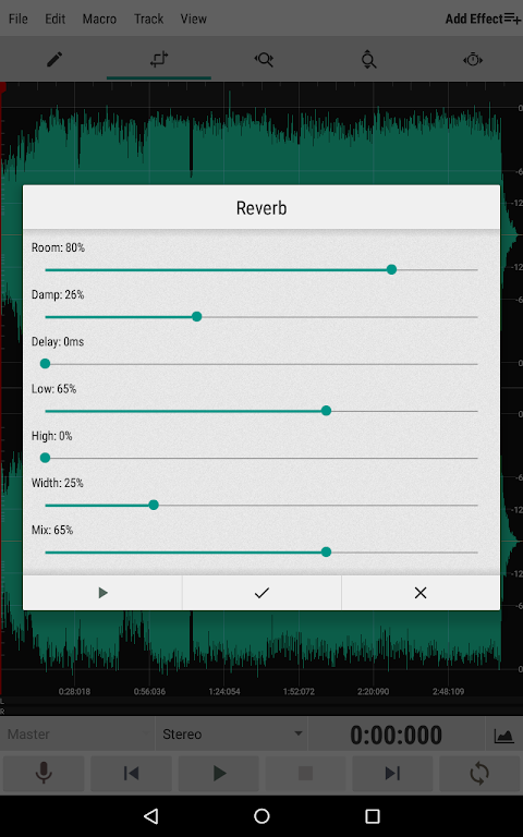 WaveEditor for Android™ Audio Recorder & Editor poster 9
