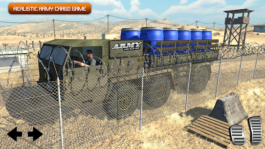 Army Truck Driving 2020: Cargo Transport Game 3