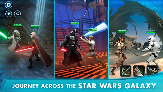 Star Wars™: Galaxy of Heroes 0.23.742101 MOD APK [HALF DAMAGE/GOD ATTACK] 2