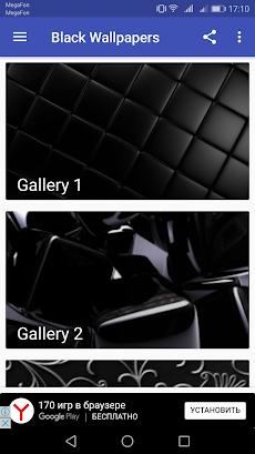 Black Wallpaper HD / Dark Wallpaperのおすすめ画像1