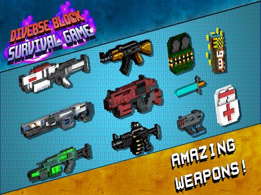 Diverse Block Survival Game  screenshots 12