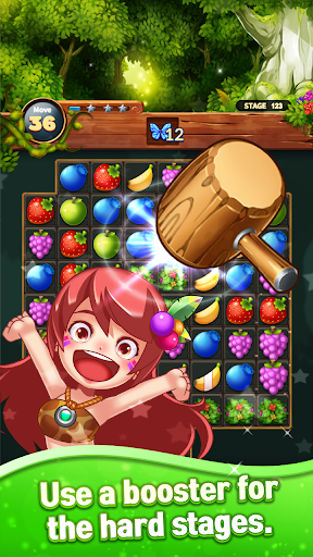 Sweet Fruits POP : Match 3 Puzzle screenshots 12
