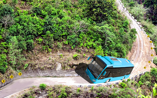 Offroad Mountains Bus Driving Simulator:Coach Game  screenshots 2